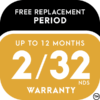 Free Replacement Period Warranty Icon