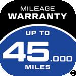 ZEETEX Mileage Warranty Icon